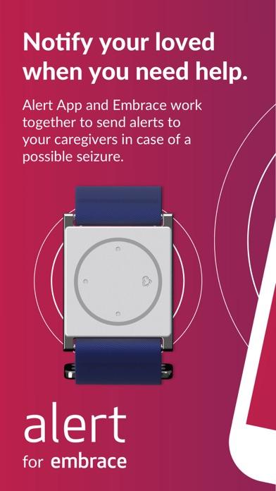 Alert for Embrace watch Screenshot