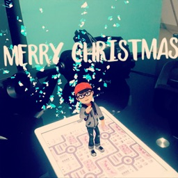 Augmented Merry Christmas!