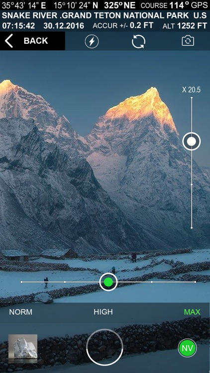 Altimeter GPS+ (Speedometer) screenshot-2