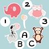 ABC&赤ちゃん、小さな子供や小さな子供のための123の教育ゲーム。才能の赤ちゃんのための無料アプリ