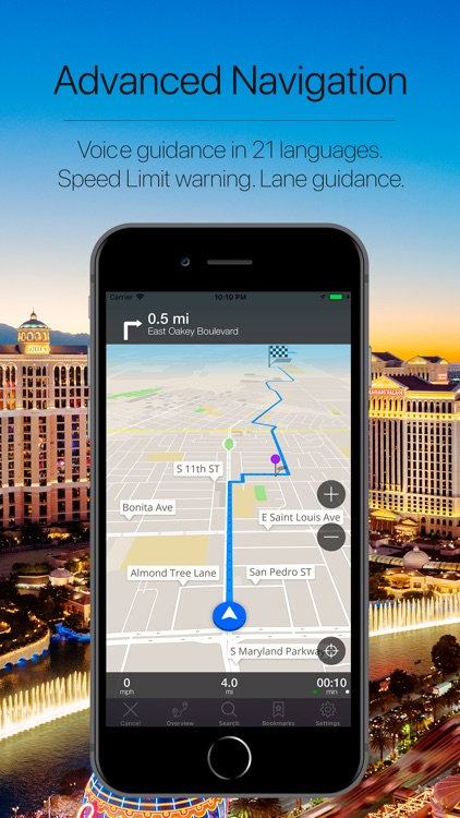 Nevada, USA Offline Navigation screenshot-3