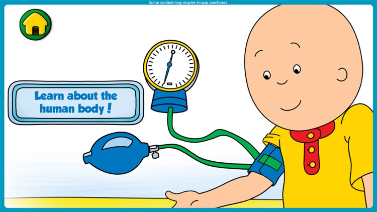 Caillou Check Up: Doctor Visit screenshot-3