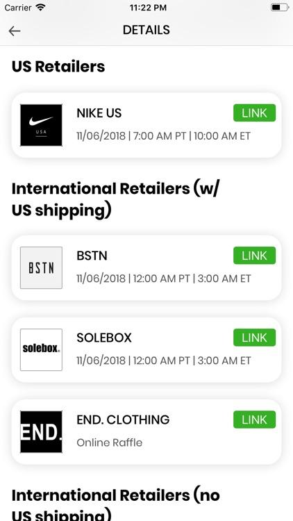 SOLE LINKS screenshot-3