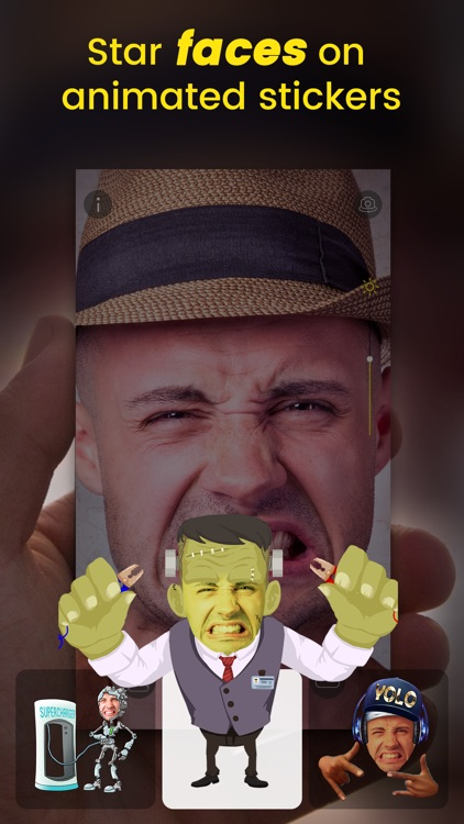 Stixy - Animated face stickers screenshot-0