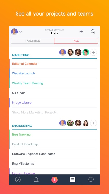 Asana: Team Tasks & Conversations screenshot-4