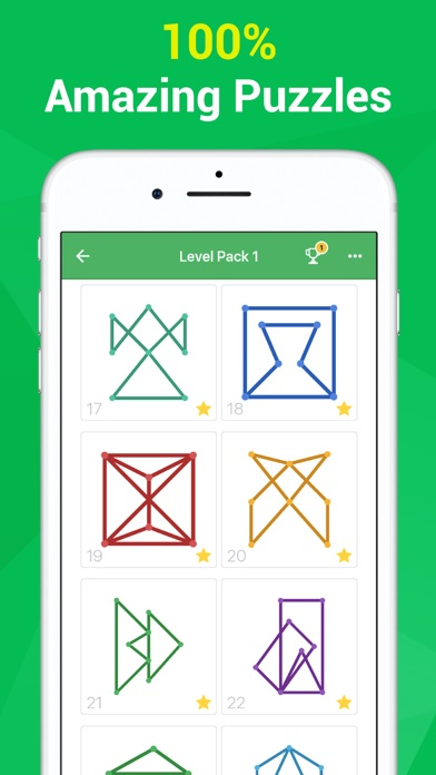 One Line One Stroke Mind Game Screenshot 1