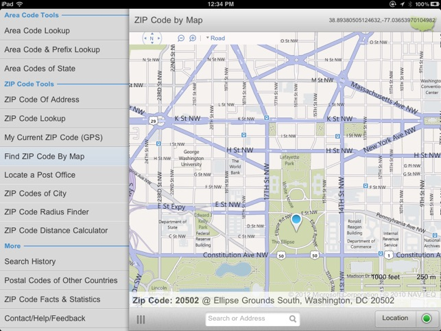 Buford Zip Code Map.Zip Code Tools On The App Store