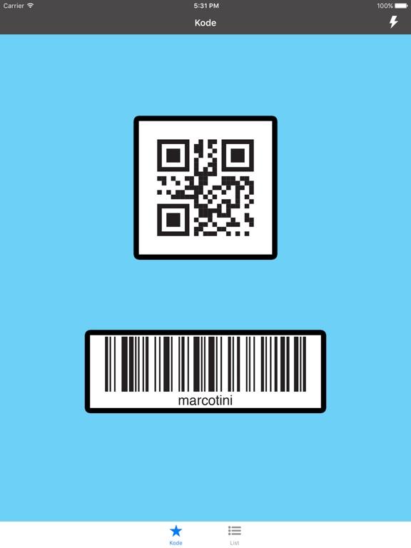 Kode Screenshots
