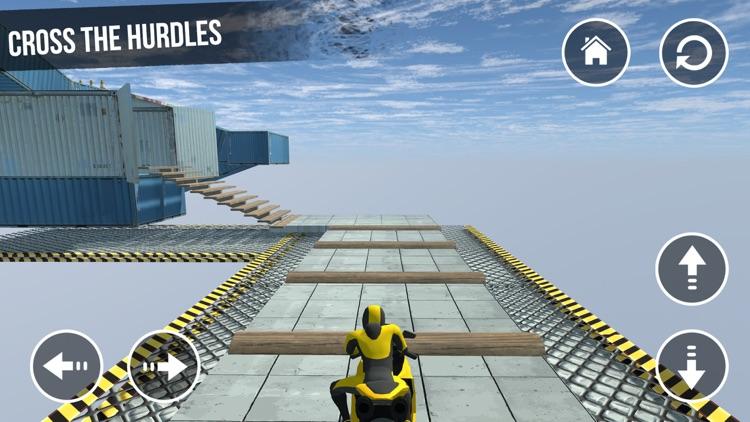 Stunt Bike Race: Tricky Track screenshot-3