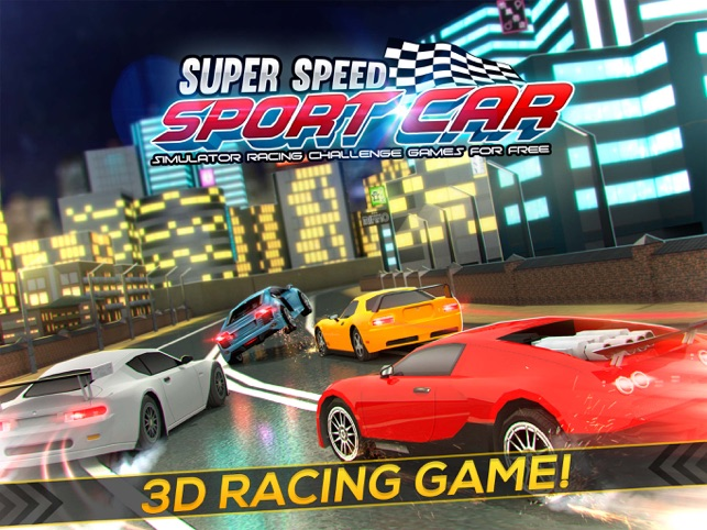 Super Speed Sport Car Racing On The App Store - Sports cars racing games