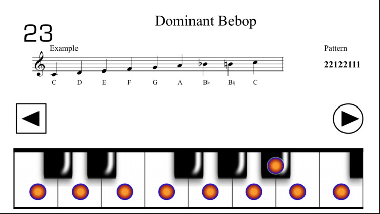 Music Scales for Piano