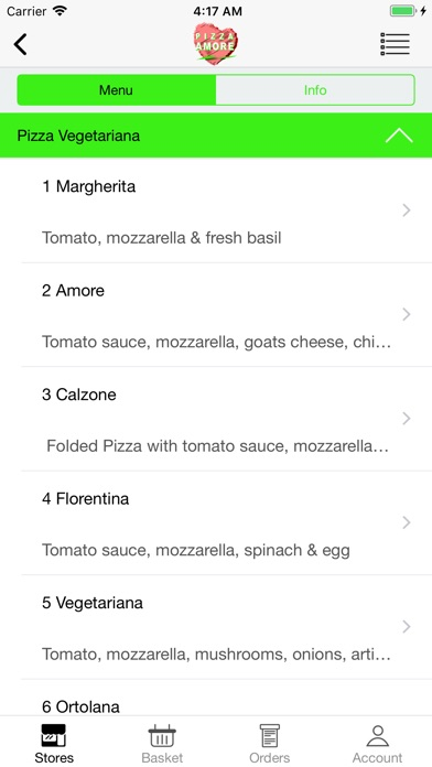 Image of Pizza Amore - North Finchley for iPhone