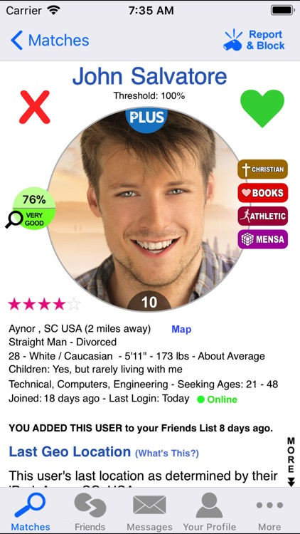 Dating DNA Plus