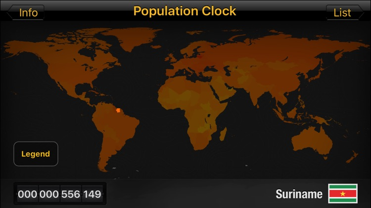 Population Clock HD screenshot-3