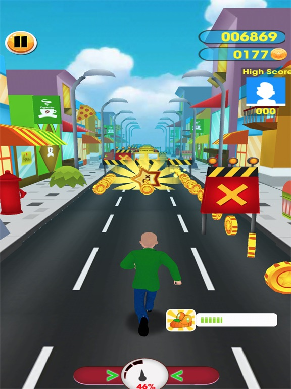 #1 Subway baltis Education Run screenshot 5