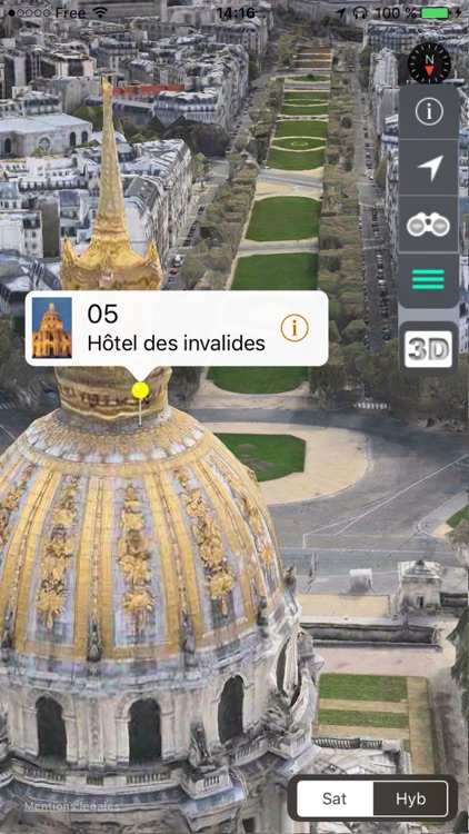 PARIS 3D Lite screenshot-1