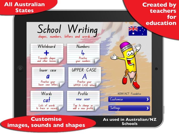 School Writing – AU/NZ screenshot-0