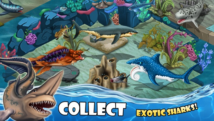 SHARK WORLD -water battle game Screenshot