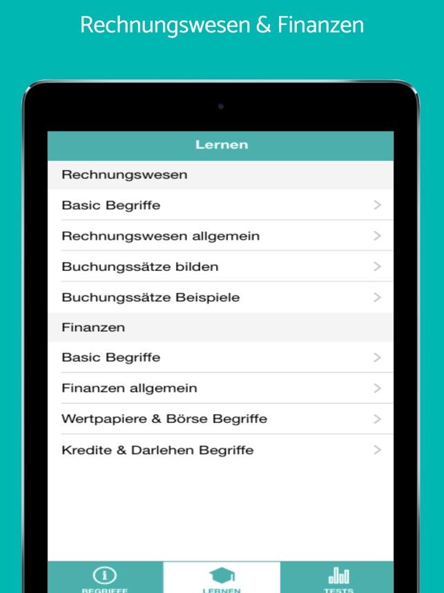 Rechnungswesen Buchungssätze Im App Store