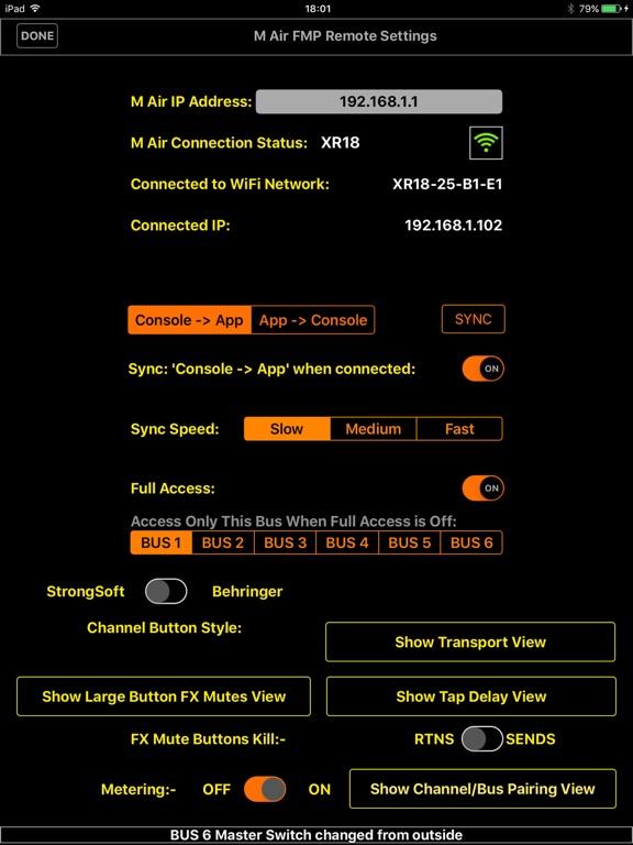 M Air FMP Remote screenshot 7