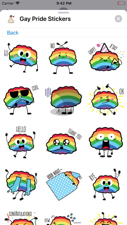 Gay Pride Stickers Collection