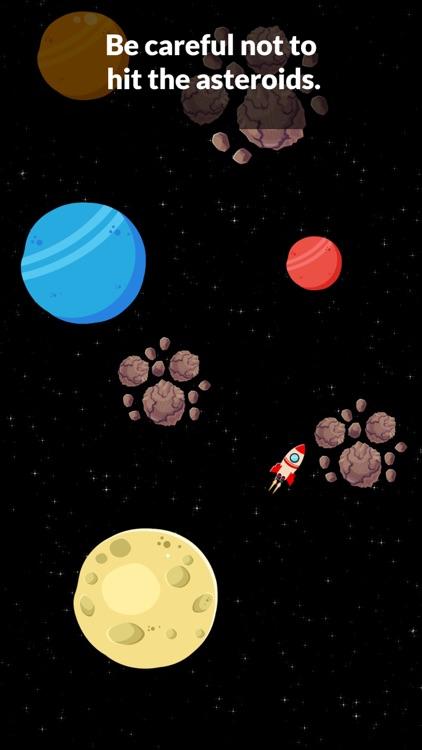 Space Game: Rocket & Asteroids