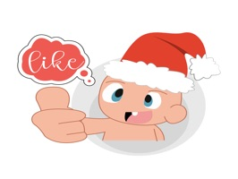 welcome to merry christmas this year with baby emoji merry christmas for imessage are nice baby collection stickers in iphone and ipad to chat funny and