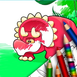 Dinosaurs - Coloring Book
