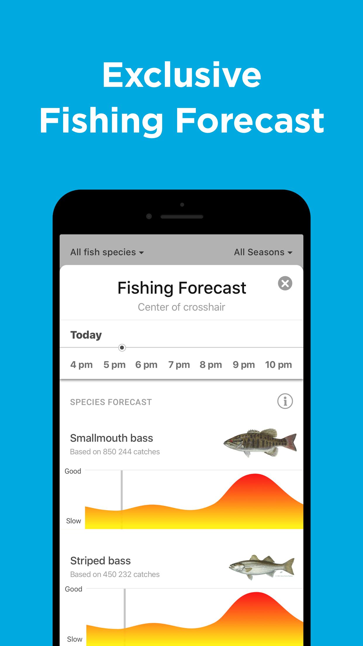Fishbrain - Fishing App Screenshot