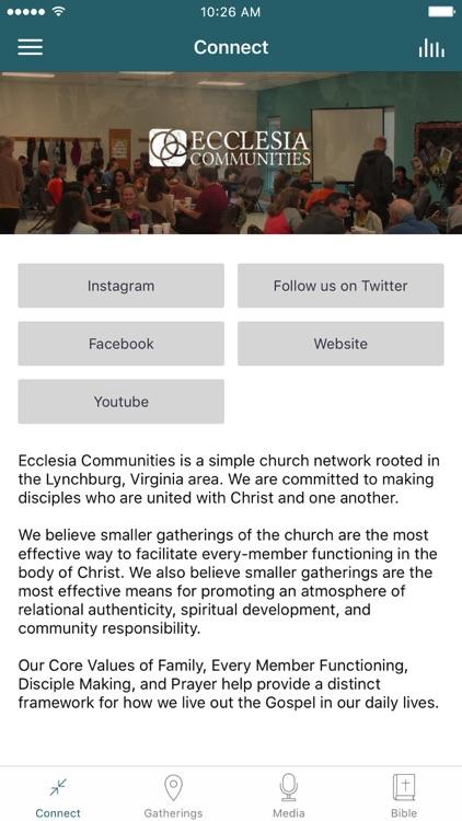 Ecclesia Communities