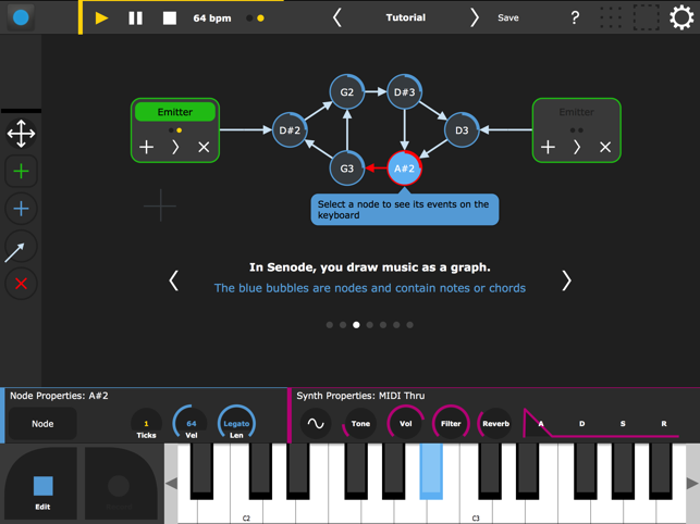 Senode - Graph Sequencer on the App Store