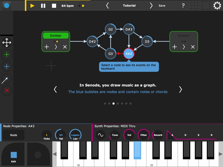 Senode - Graph Sequencer