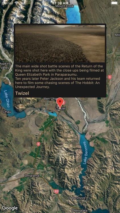 Middle-earth Guidebook NZ screenshot-3