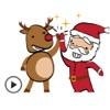 Animated Funny Santa Sticker