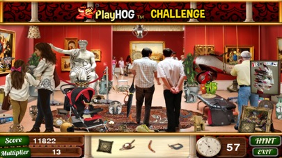 Art Museum Hidden Objects Game screenshot one