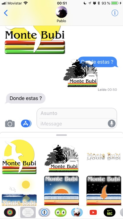 Monte Bubi Stickers