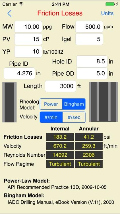 Drilling Hydraulics (Basic) screenshot-4