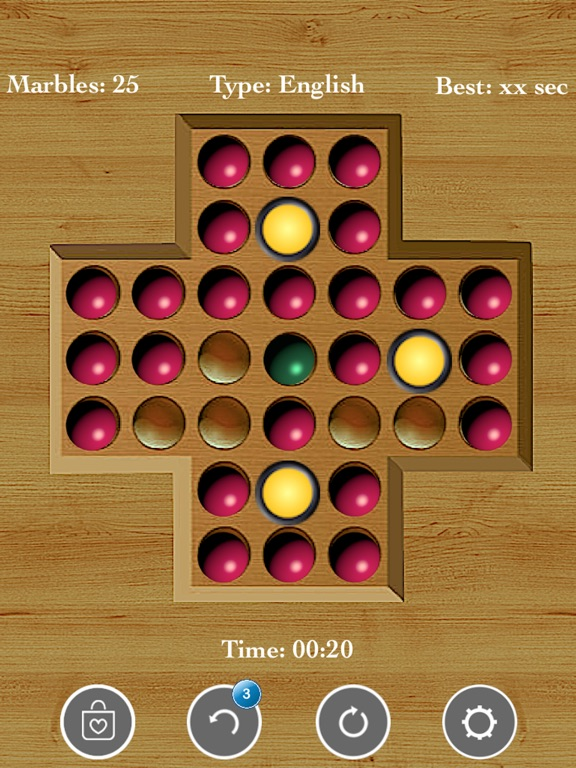 Brainvita Solitaire : Premium! screenshot 10
