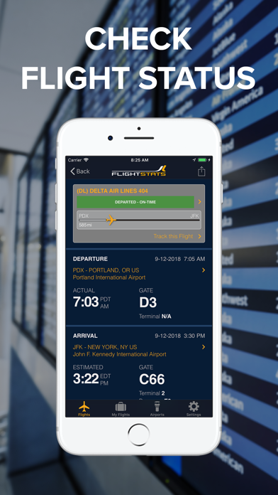 FlightStats by Reed Business Information Ltd  (iOS, United States