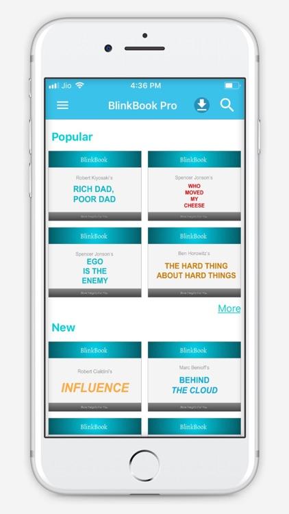 BlinkBook - Self Help Summary screenshot-3