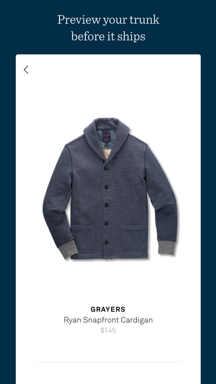 Trunk Club screenshot-2