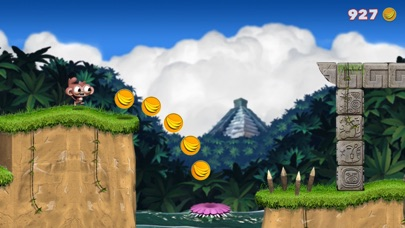 Dare the Monkey: Go Bananas! screenshot 1