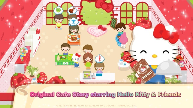 Hello Kitty Dream Cafe On The App Store