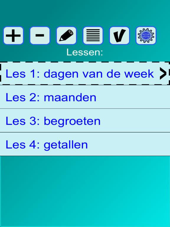 Woorden EN (taalles, vertalen) screenshot 7