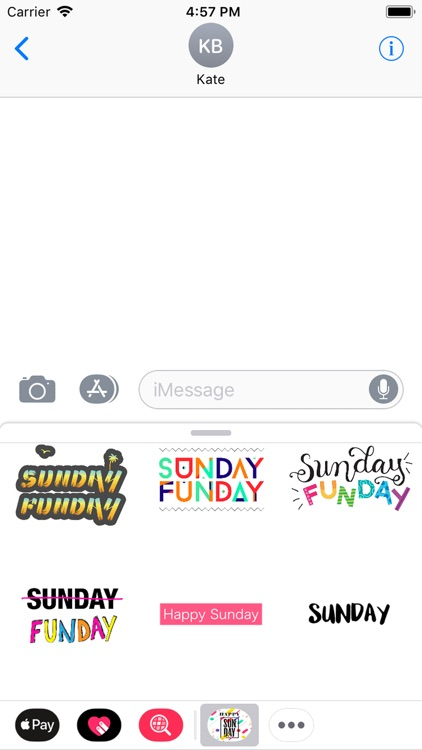sunday stickers screenshot-9