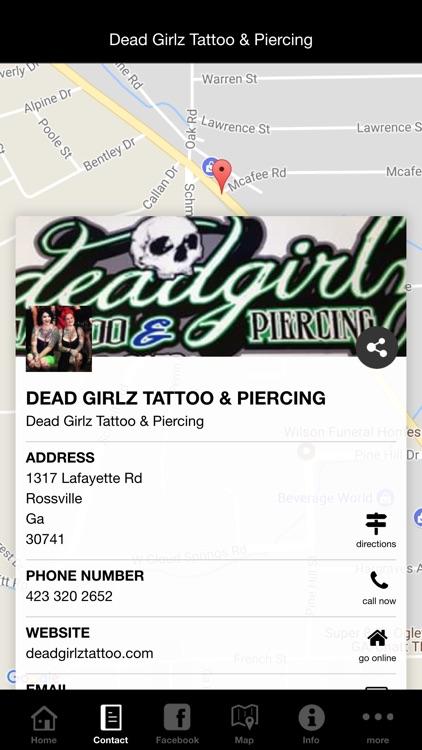 Dead Girlz Tattoo & Piercing screenshot-4