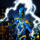 City Superhero Electric-Man icon