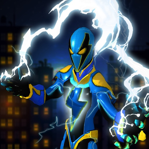 City Superhero Electric-Man