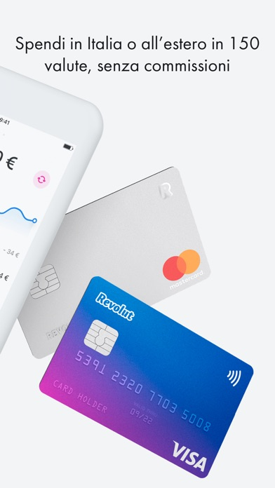 Screenshot for Revolut - Beyond Banking in Italy App Store