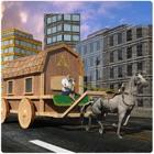 Transportador de cidade de car icon